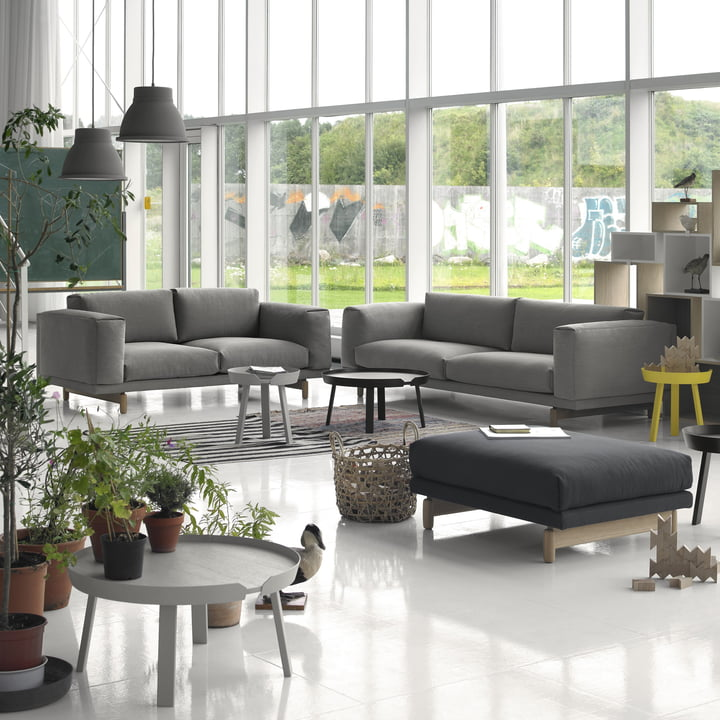 Rest sofa 2 and 3 seater and pouf