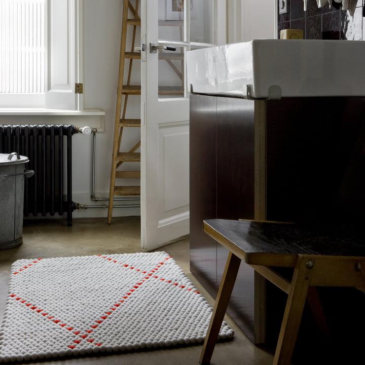 Hay - S&B Dot Carpet, poppy red
