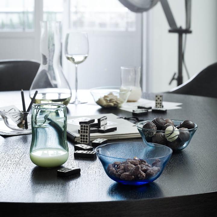 Holmegaard - Future - glasses, jug, bowl