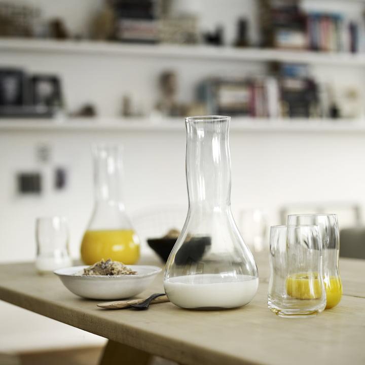 Holmegaard - Future - glasses, jug - breakfast