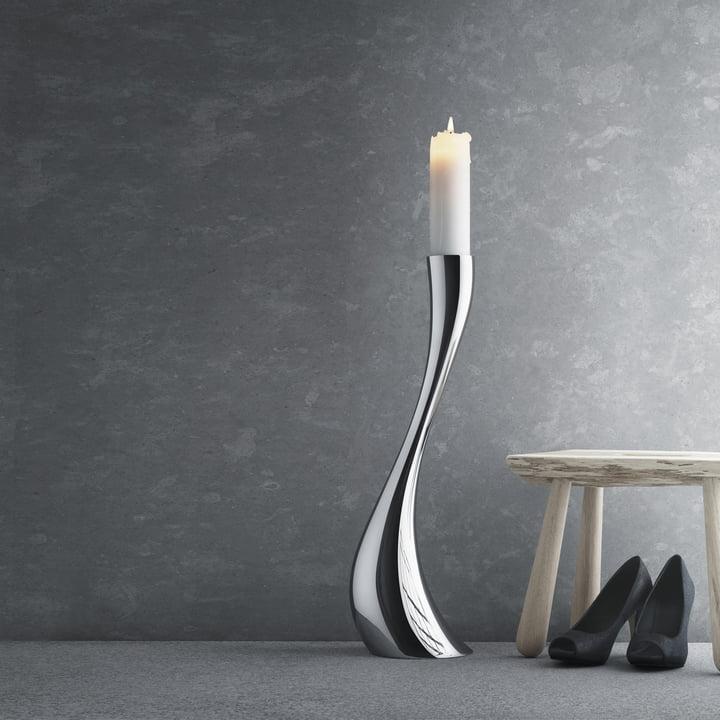 Georg Jensen - Cobra Candleholder, 60cm