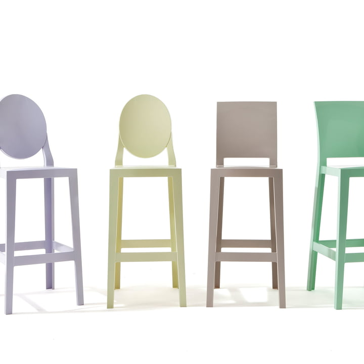 Kartell - One More, One More Please stool, oval H 110 cm