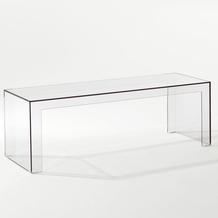 Kartell - Invisible Side Bank H 40cm, clear