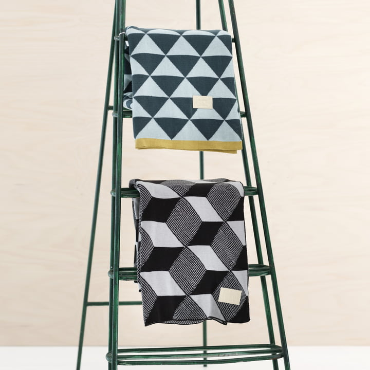 Knitted Blankets by ferm Living