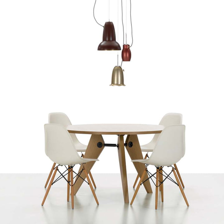 Vitra - Guéridon Table, oak natural - showroom