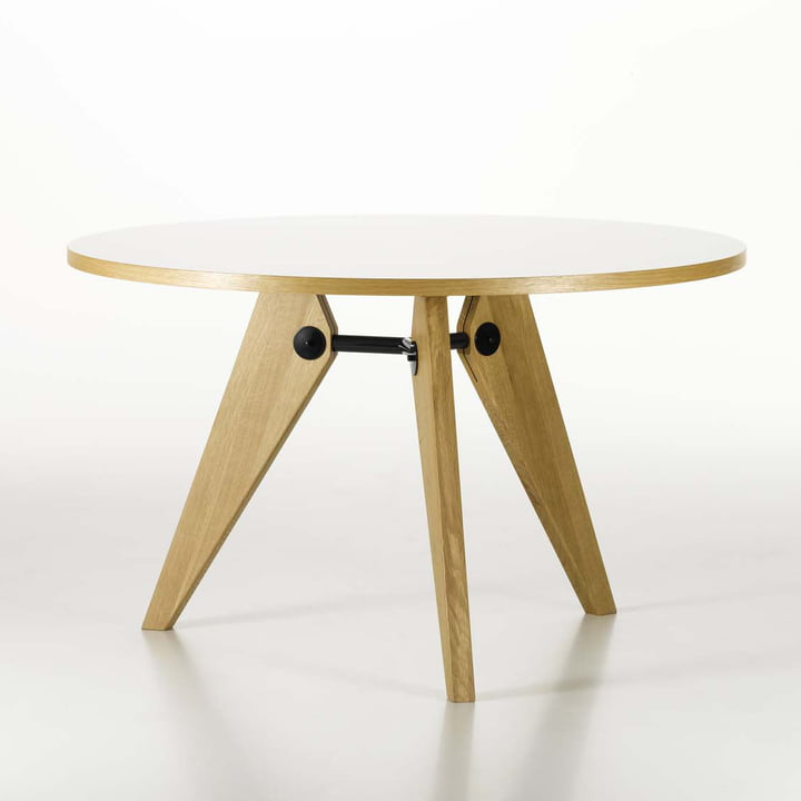 Vitra - Guéridon Table, oak natural, 120 cm