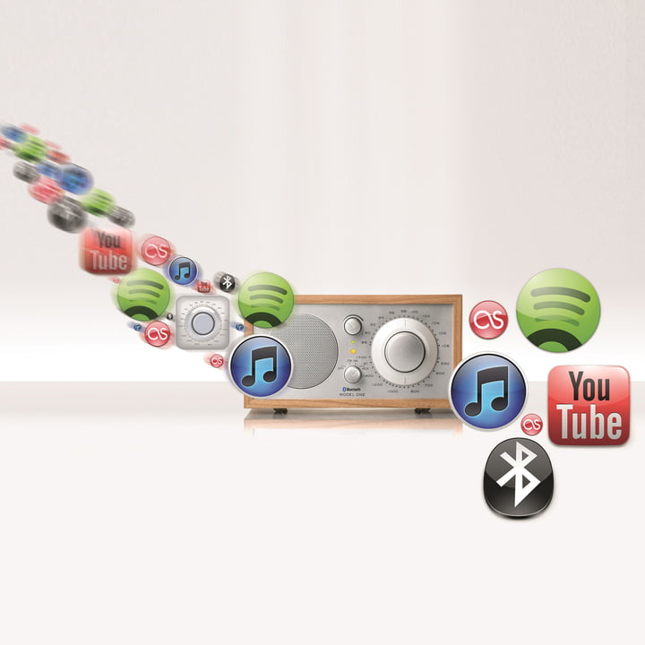 Tivoli Audio - Model One BT, cherry - possible functions