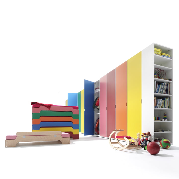 Müller Möbelwerkstätten - Modular, coloured