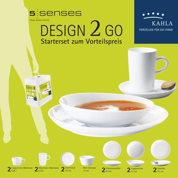 Kahla - Five Senses, 14 pcs., starter set