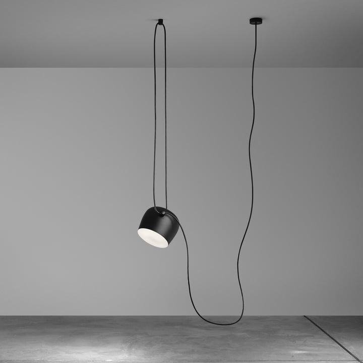 Flos - AIM pendant lamp, black