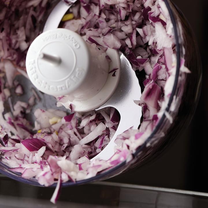 KitchenAid - hopper - knife, onions