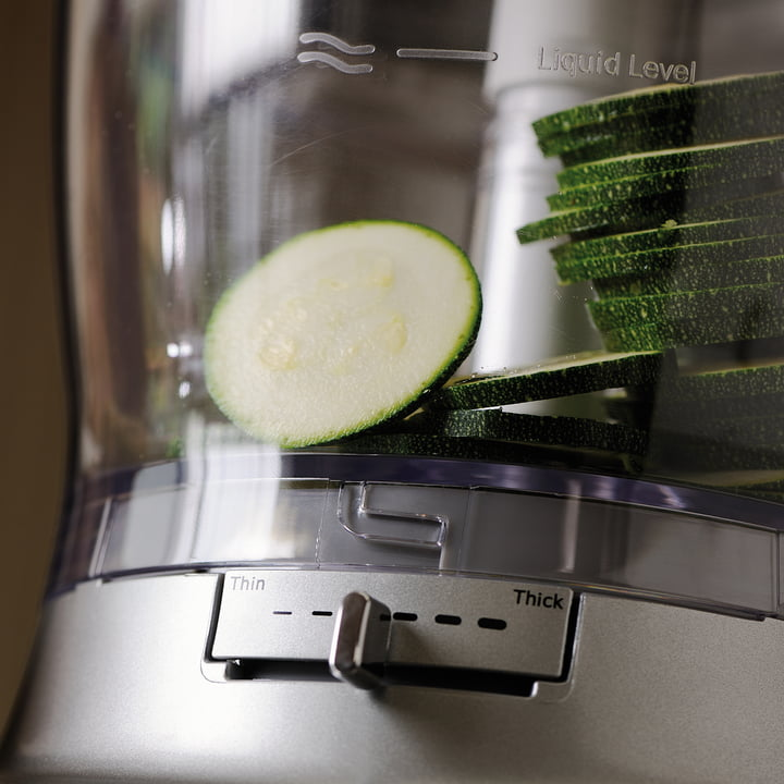 KitchenAid - Food Processor, 3,1 L - chopped vegetables slices