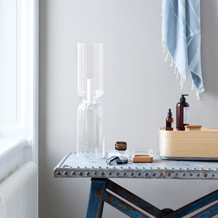Iittala, Lantern Lamp - blue ambience image