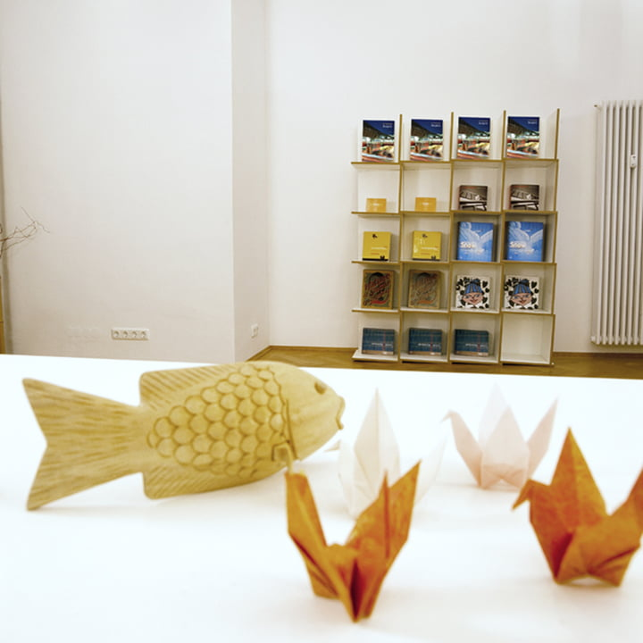 Jonas Jonas - Tri modules shelf, white - 4 x 5