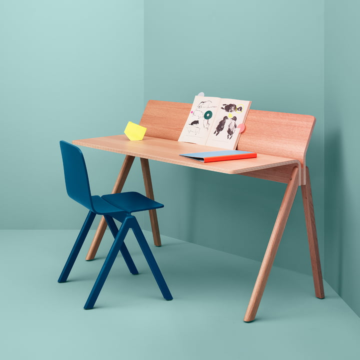 Hay - Copenhague, group desk with a chair