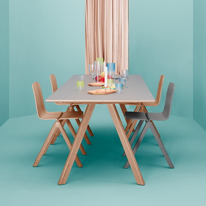 Hay - Copenhague, group served table