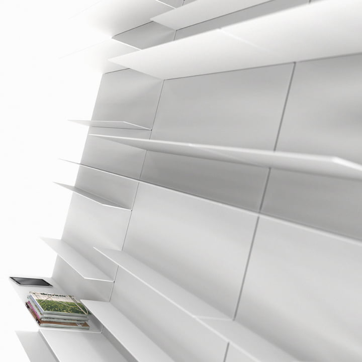 Frost - Unu Shelving system, ambience image
