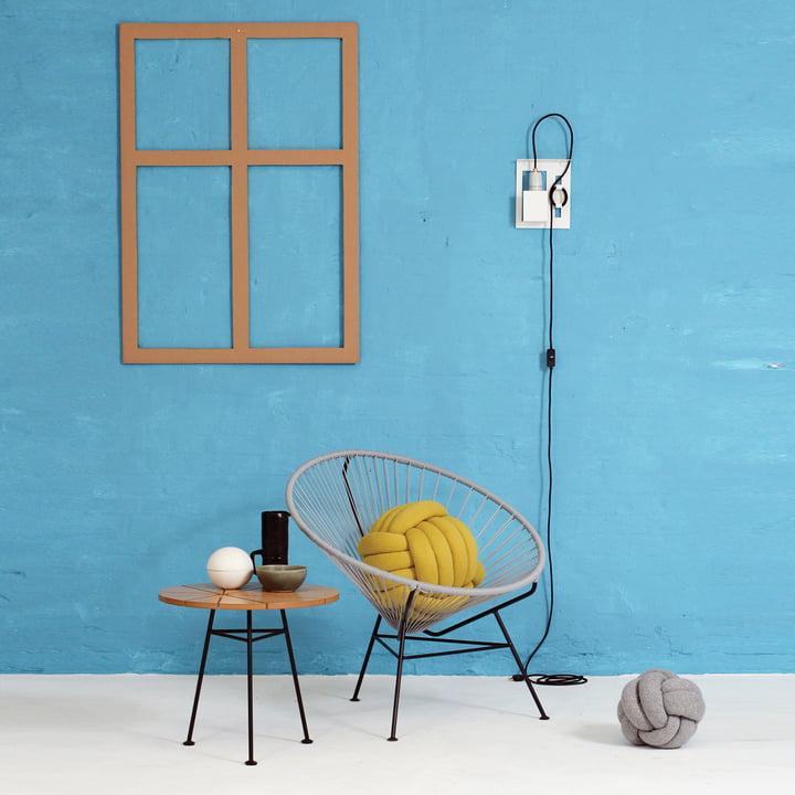OK Design - The Condesa Chair, light grey