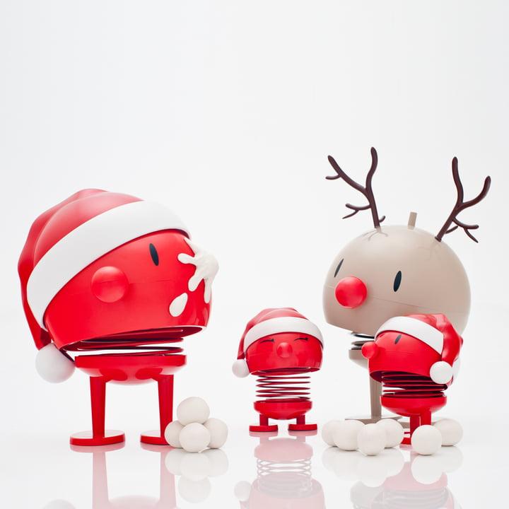 Hoptimist - Santa and Rudolf
