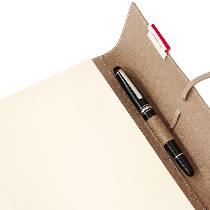 Holtz - sense Book Flap - pen loop