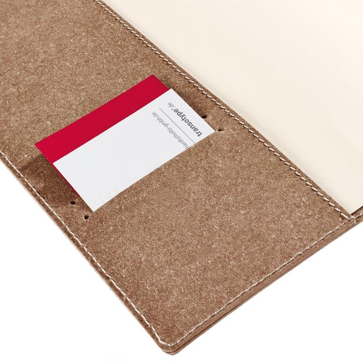 Holtz - sense Book Flap - pocket visiting cards