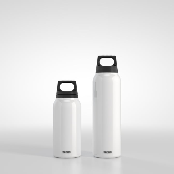 Sigg - Thermo 0.3 l and 0.5 l, classic white