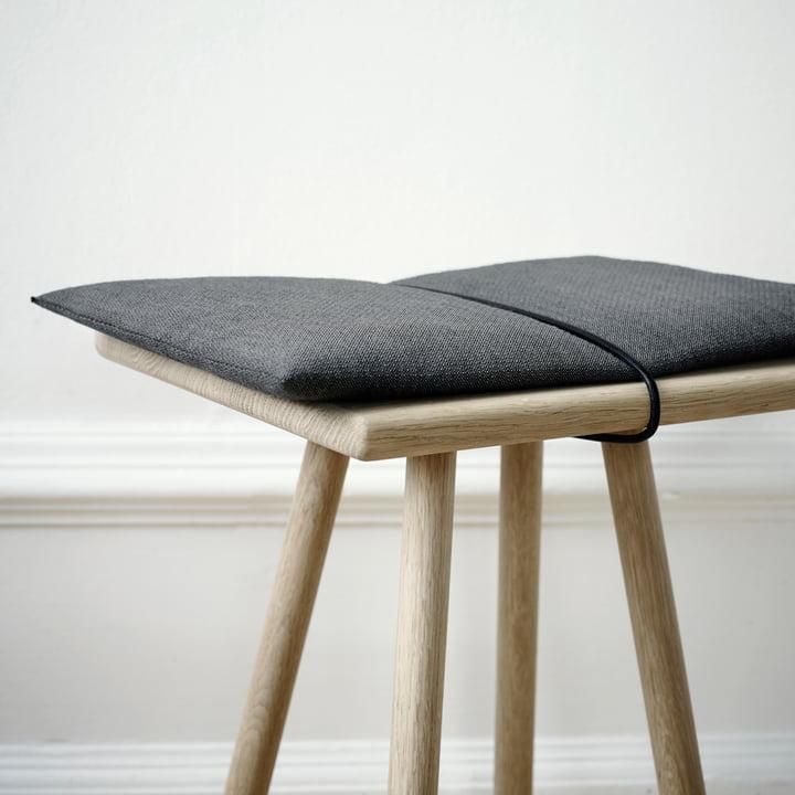Skagerak - Georg Stool with cushion, oak wood