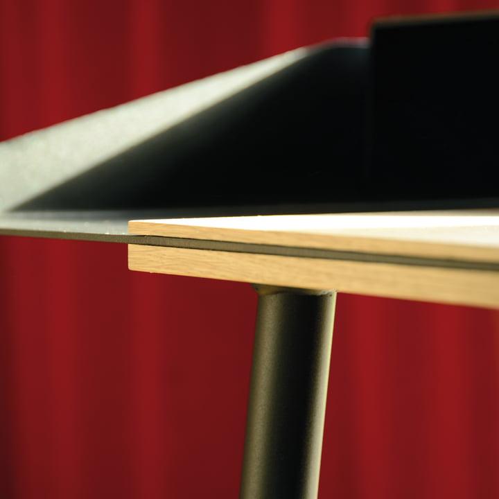 Radius Design - Miss Moneypenny Secretary, details of edge