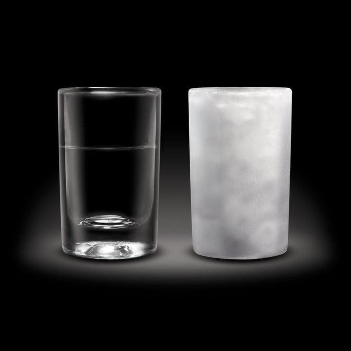 Amsterdam Glass - Shot Glass, 45 ml - normal and frozen