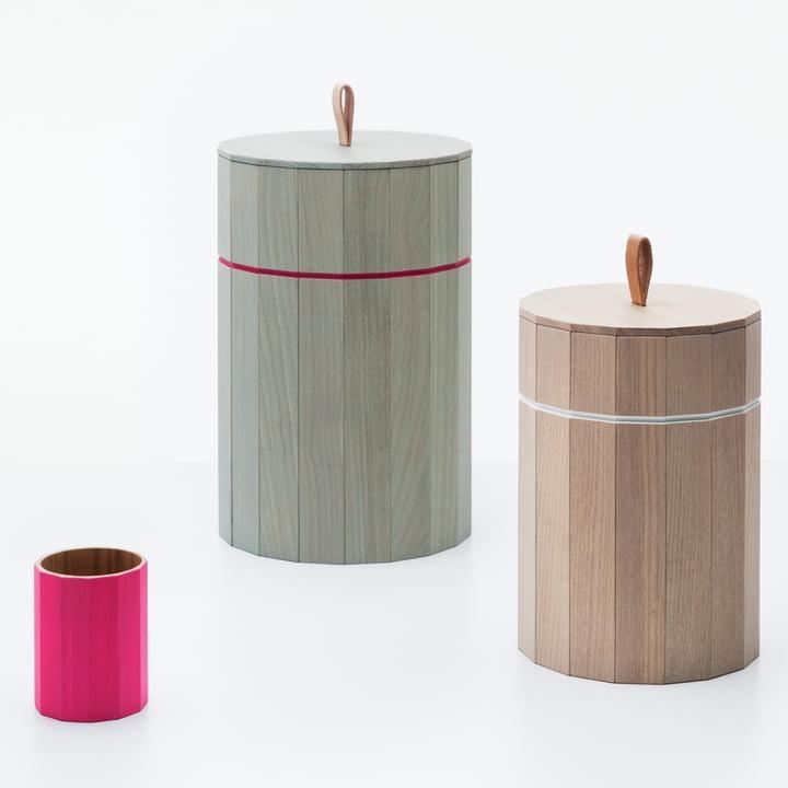 Karimoku New Standard - Colour Bin small