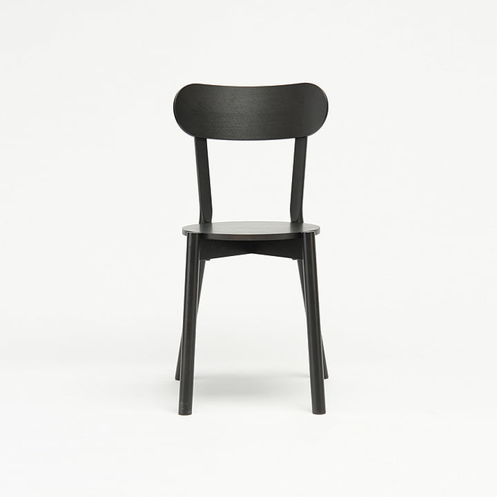The Karimoku New Standard - Castor Chair in black