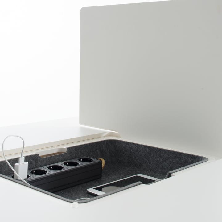 Conmoto - Pad Table - compartment