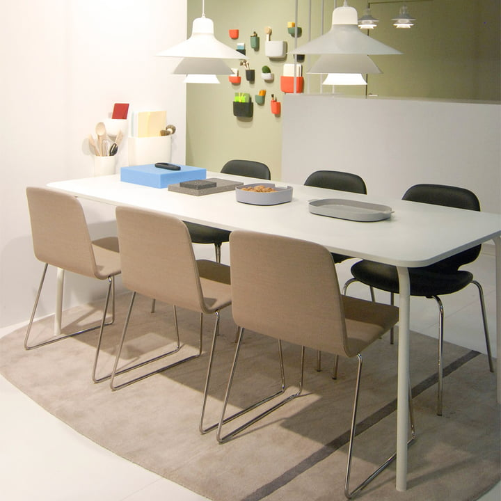 Normann Copenhagen - My Table, large, white