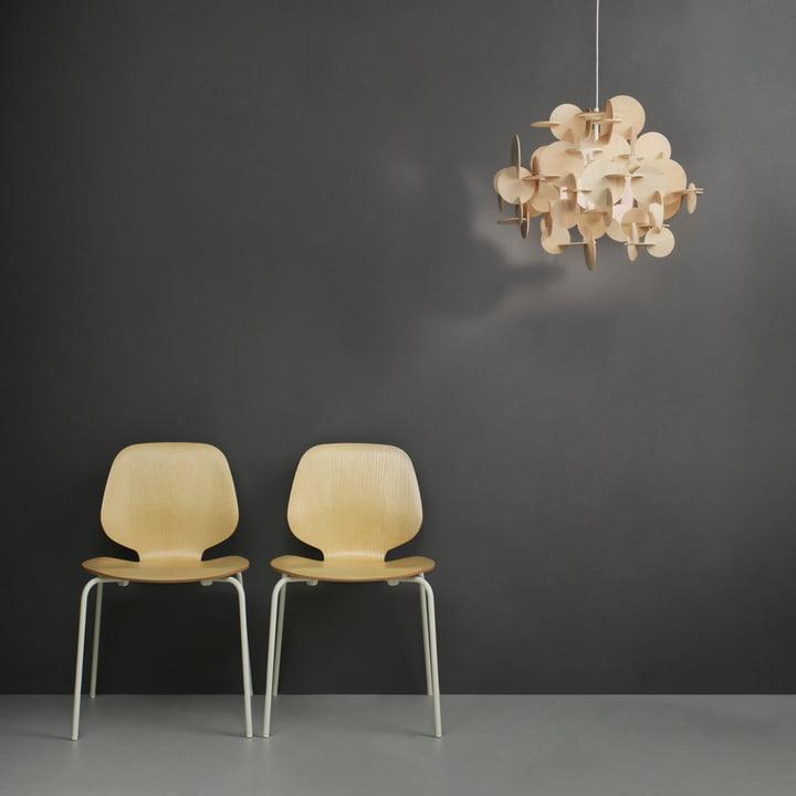 Normann Copenhagen - My Chair, ash / white