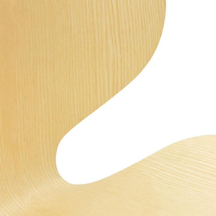 Normann Copenhagen - My Chair, ash wood - details, backrest