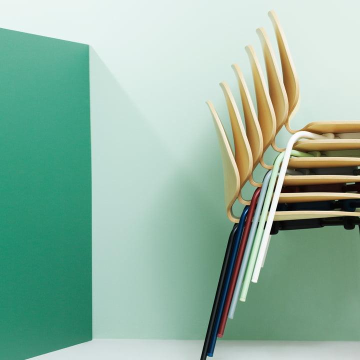 Normann Copenhagen - My Chair, ash / stacked