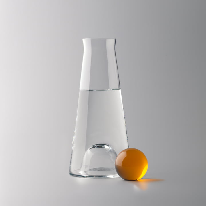 Design House Stockholm - Fia Carafe, clear / amber - water