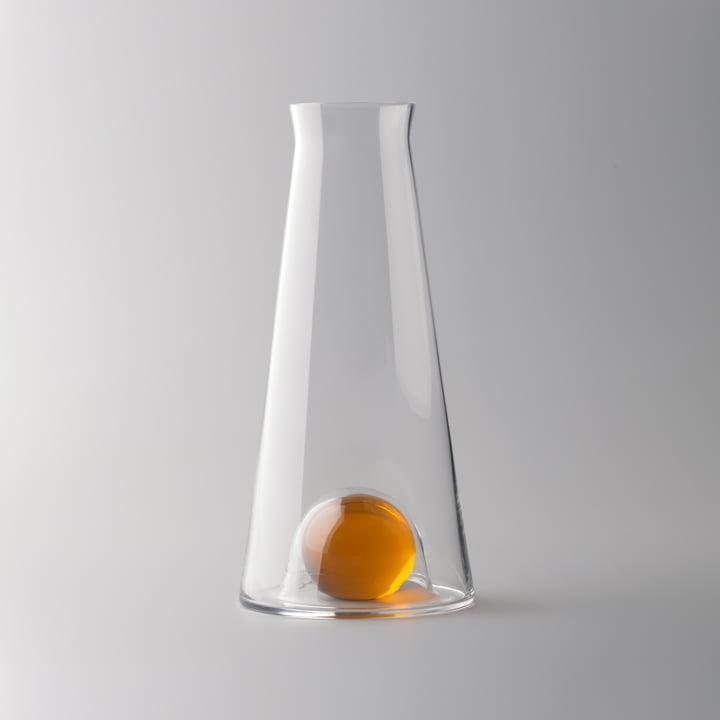 Design House Stockholm - Fia Carafe, clear / amber