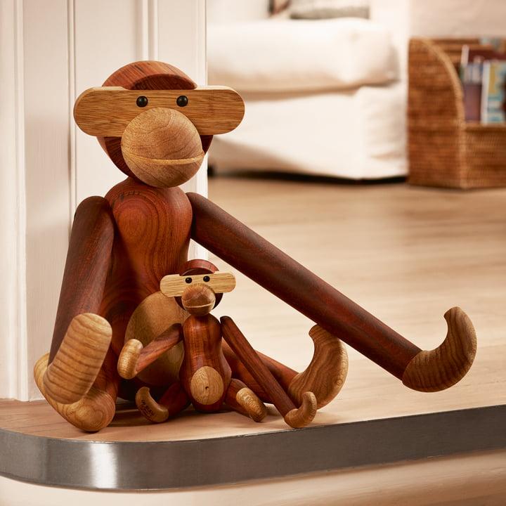 Kay Bojesen Denmark - Wooden Ape - different sizes
