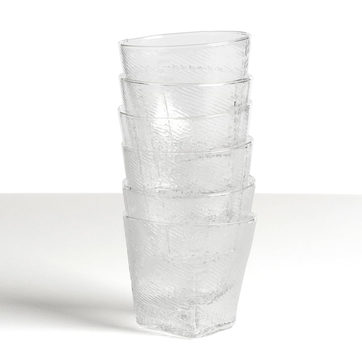 Hay - Tela Tumbler small, clear, stacked