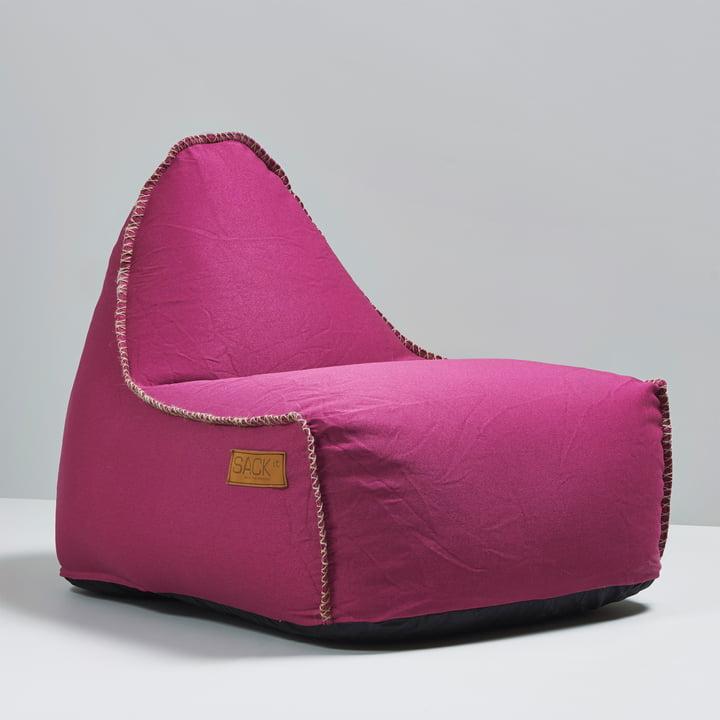 Sack it - Retro it Indoor Beanbag, pink