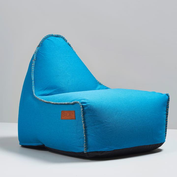 Sack it - Retro it Indoor Beanbag, turquoise