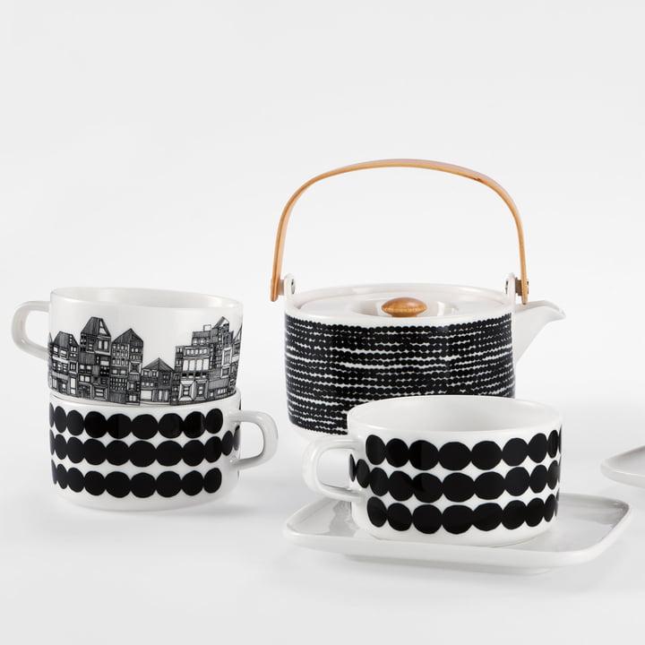 Marimekko - Oiva Räsymatto teapot