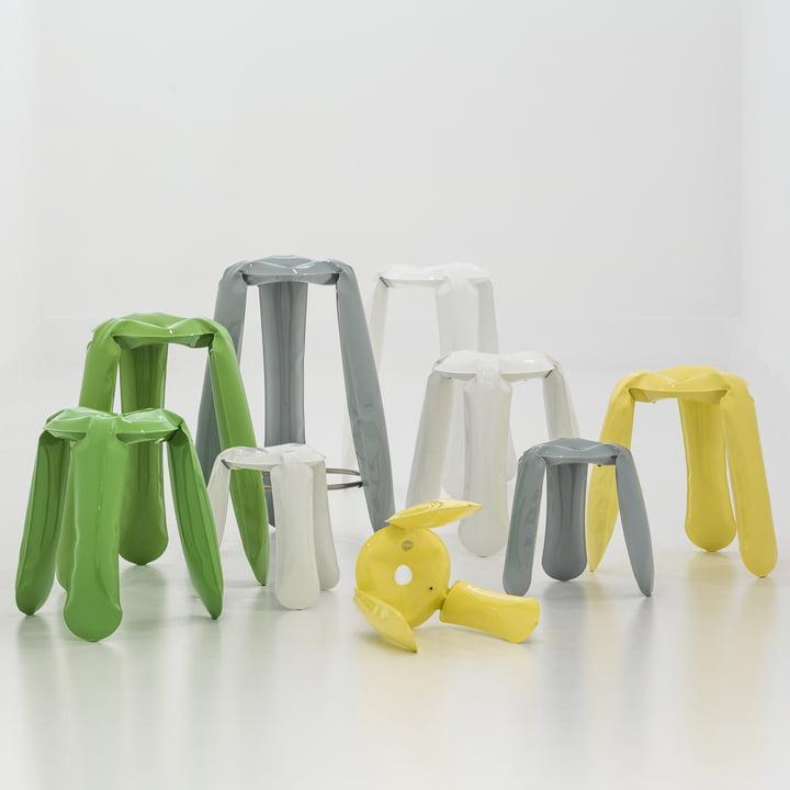 The Plopp stool family