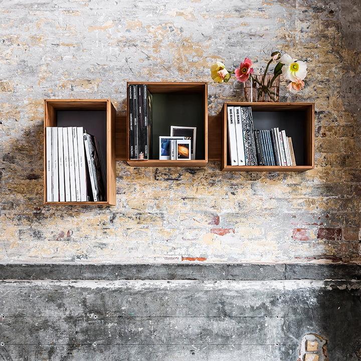 Wall Rack for manifold items -  SJ Bookcase Midi