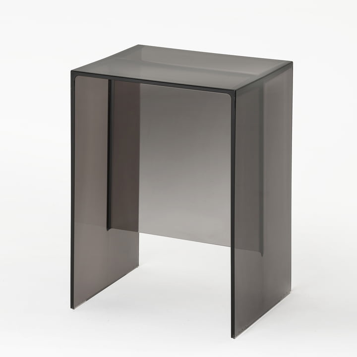 Kartell - Max-Beam Stool / Side Table, fumé