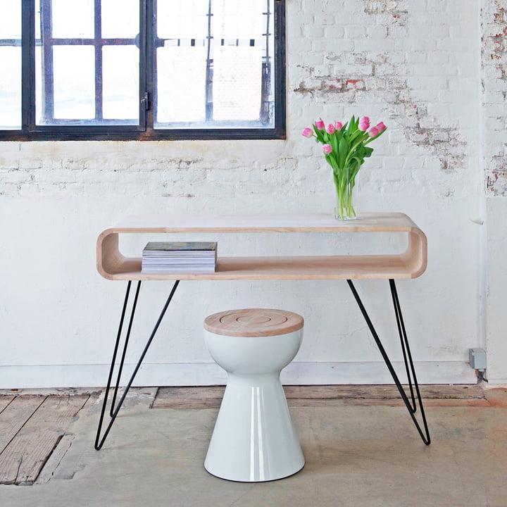XLBoom - Ambientebild, Metro Sofa Table, Boto Stool