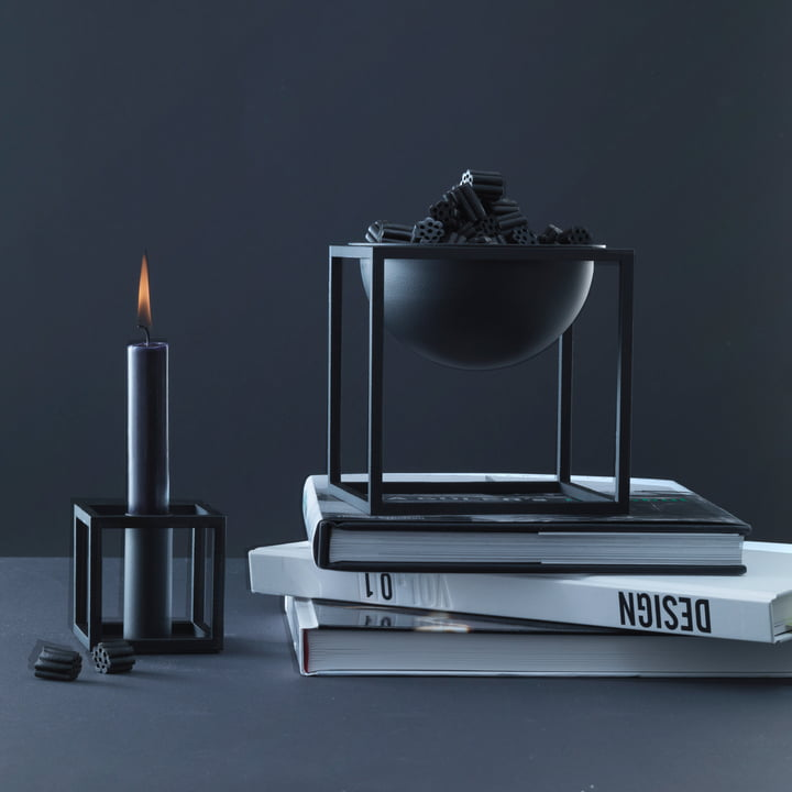 by Lassen - Kubus 1, Kubus bowl, black