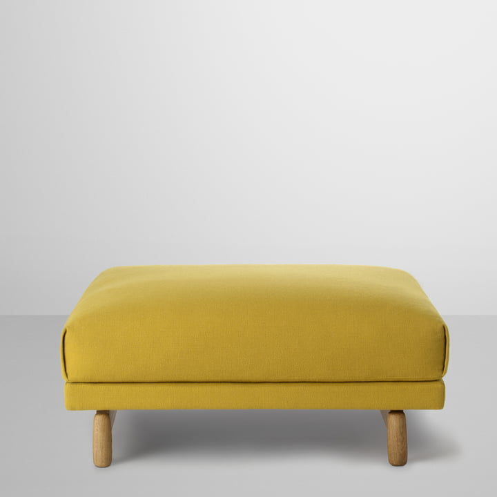 Rest Pouf by Muuto in Yellow