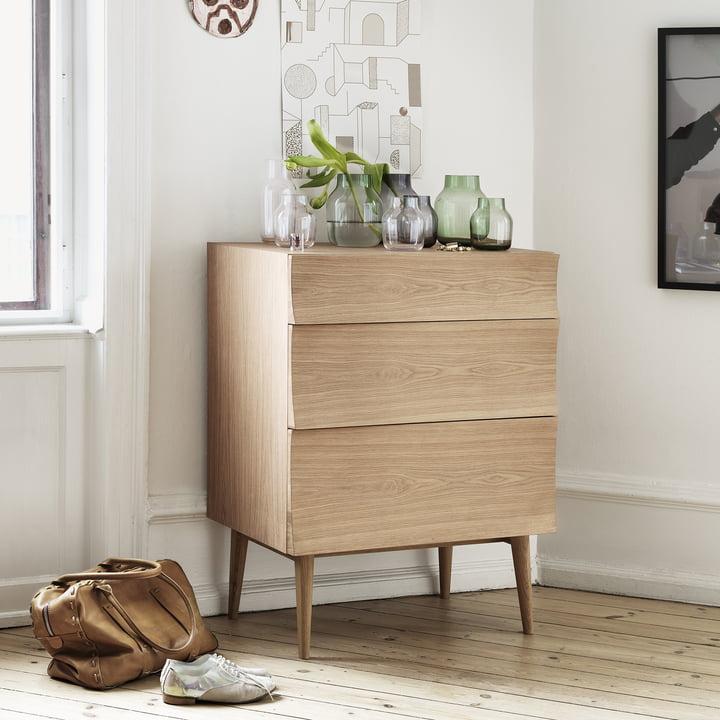 Muuto - Reflect chest of drawers, oak wood